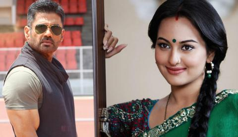 Suniel Shetty to play Sonakshi Sinha father ,Suniel Shetty and Sonakshi Sinha