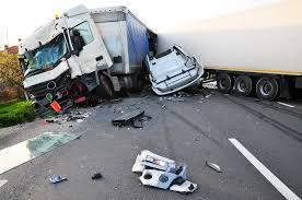 Truck Road Accident