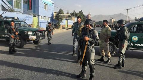 Suicide blast outside Kabul cricket stadium kills three, injures seven