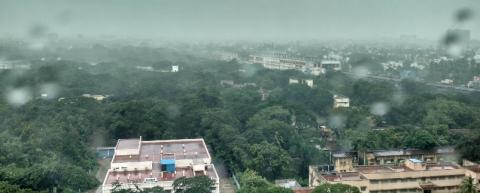 monsoon showers,Chennai