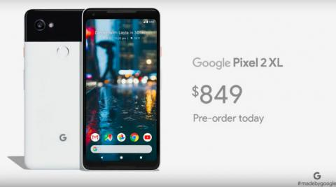 Google Pixel 2, Pixel 2 XL launched
