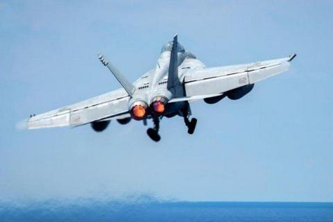 U.S. strike aircraft shot down a Syrian government fighter jet