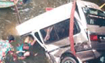 One killed, seven injured in accident at Galigamuwa