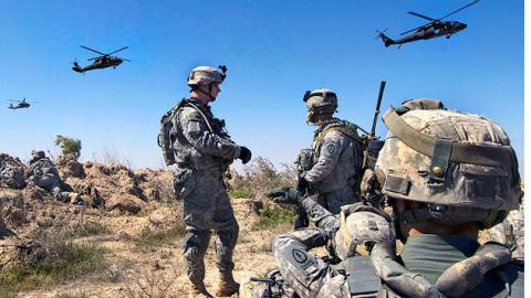 US to send 560 more troops to Iraq
