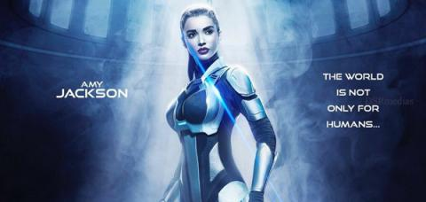 Amy Jackson's new poster from 2.0 is out!!,Amy Jackson