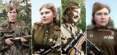 10 of the Deadliest Russian Female Snipers of World War II