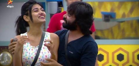 Snehan and Oviya ,Bigg Boss tamil,