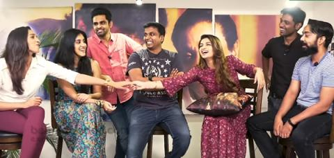 A Fun Chat with As I'm Suffering From Kadhal Team