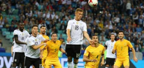 Germany nFresh-faced Germans, world champions' young squad, Confederations Cup, Football