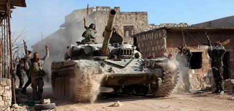 Syrian Observatory for Human Rights,Al-Bab to Raqqa,Aleppo ,Syrian army advances against ISIL,Complete siege on ISIL in Al-Bab town,Syrian army complete in Al-Bab town, Syrian army, ISIL, Islamic State,Al-Bab town,