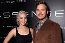 Passengers Trailer,  Chris Pratt, Jennifer Lawrence