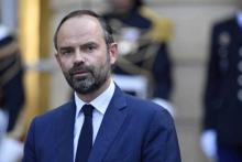 Emmanuel Macron,Edouard Philippe , French Prime Minister Edouard Philippe ,  Cut expenditures over the next five years ,