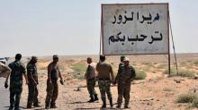 Iraqi troops have no orders to follow IS militants in Syria