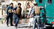 20 Afghan police killed as Taliban attack