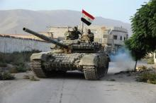 Syrian forces destroy ISIS training camp in Deir Ezzor