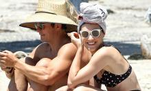 Orlando Bloom spends time with Katy Perry