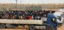 Truck packed with migrants crashes in Libya