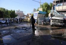 Baghdad bomb blast,Civilian killed, two wounded
