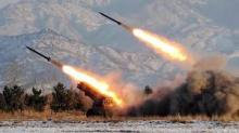 Seven rockets target Islamic State militants in western Anbar