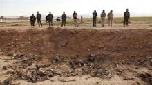 Iraqi military discovers mass graves