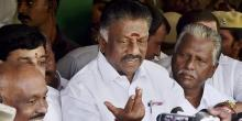 Former Chief Minister O Panneerselvam