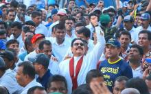 Will Mahinda's Galle face Rally affect political Solution?