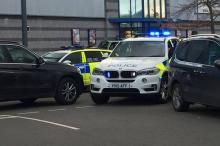 Gunman takes hostages at bowling alley in Nuneaton in England's Warwickshire.