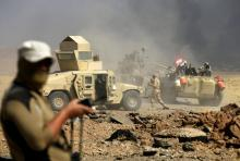 Iraqy army forces reach to Islamic State's stronghold in Anbar