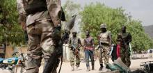 kills eight,Boko Haram suicide bomber in northeast Nigeria's Maiduguri