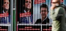 Mélenchon gains four points as race tightens at the top
