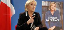 Marine Le Pen says only SHE can protect France from 'new world' of Trump and Putin