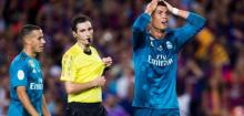 Zidane angered by five-game Cristiano Ronaldo ban