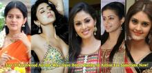 Top 10 Kollywood Actress