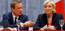 Marine Le Pen and Dupont-Aignan have common vision on France's future