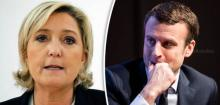 Emmanuel Macron ahead in polls, but Marine Le Pen still a force