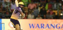 Narine and Lynn fire KKR to play-offs