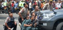 ISIS-linked Indonesian shot dead after bomb attack