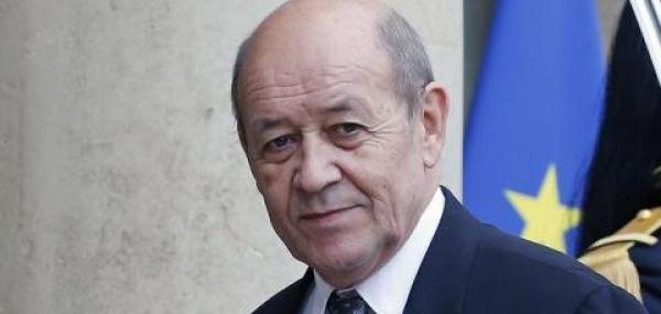 French FM to visit Russia, Iran for talks about Syria
